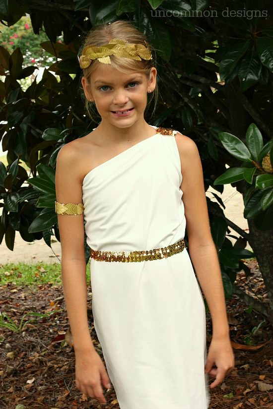 Easy Greek Goddess Costume Uncommon Designs