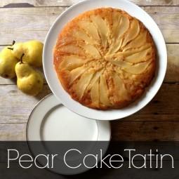 "Pear Cake ""Tatin""... the perfect fall recipe! Uncommon Designs"
