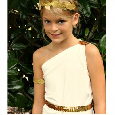 Easy Greek Goddess Costume