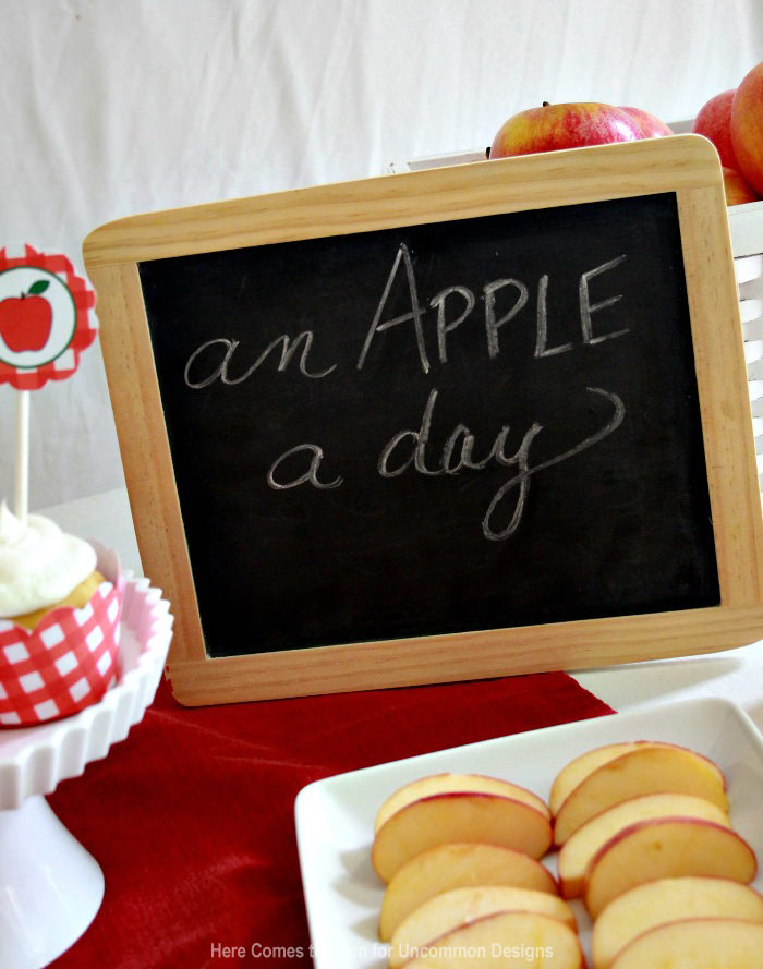Throw an apple party this Fall with this  complete Free Printable Pack!  Uncommon Designs