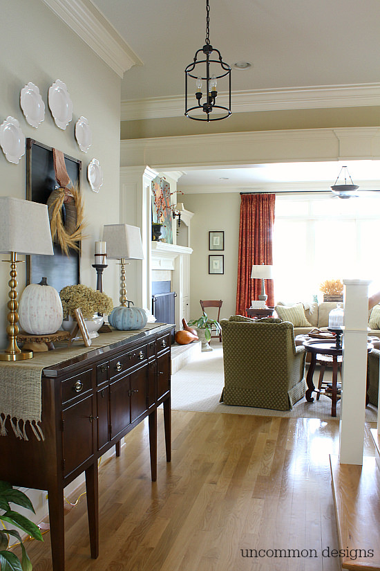 Fall Home Tour by Uncommon Designs.