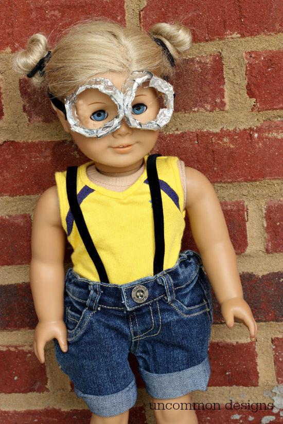 Minion Halloween Costumes For Girls.Minion American Girl Doll Halloween Costume