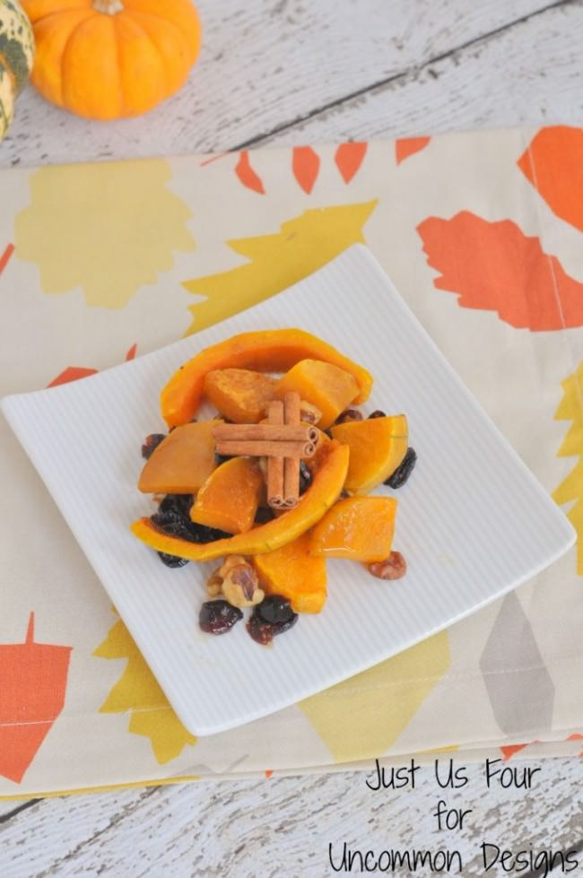 Maple Roasted Butternut Squash Recipe ~ Uncommon Designs