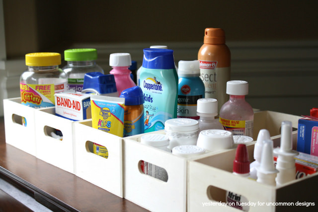 How to Organized your Medicine Cabinet ~Uncommon Designs