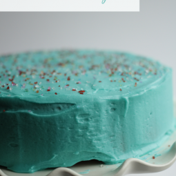 The Best Buttercream Icing Recipe! Your search for the perfect birthday cake frosting will end here! ~ Uncommon Designs