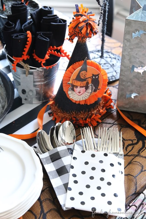 Vintage Halloween Party Decor from Finding Home