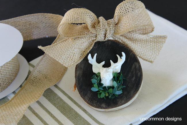 burlap-bow-deer-head-ornament-uncommon-designs