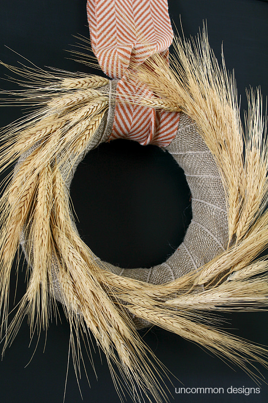 fall-wreath-wheat-and burlap-uncommon-designs