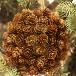 mini-pine-cone-kissing-ball-ornament-uncommon-designs