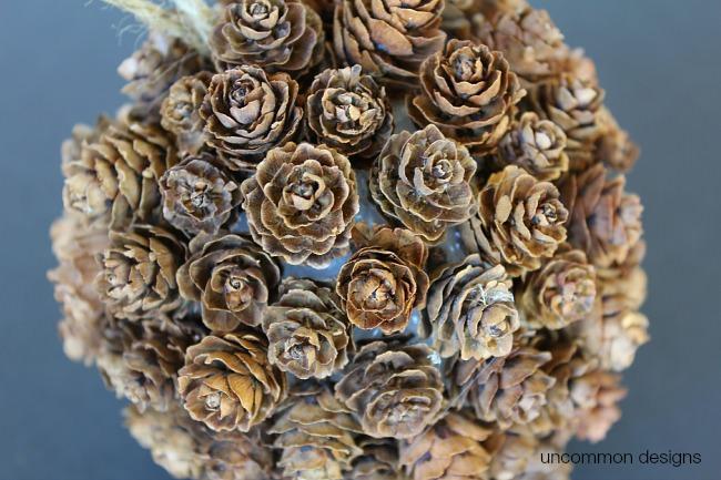 mini-pine-cones-on-styrofoam