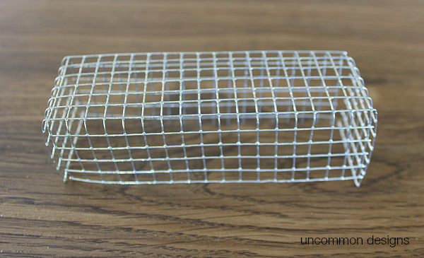 Wire Mesh Holder for Wheat Centerpiece by Uncommon Designs