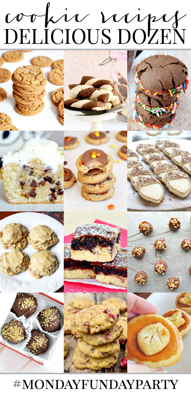 A Dozen Delicious Cookie Recipes