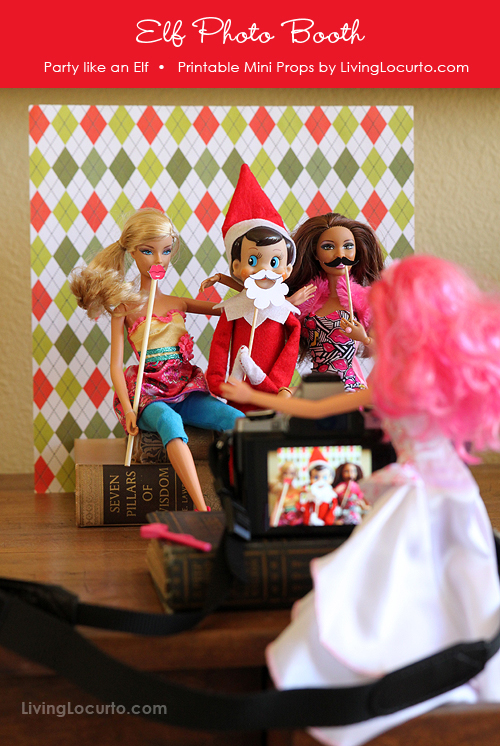 Printable-Elf-Photo-booth