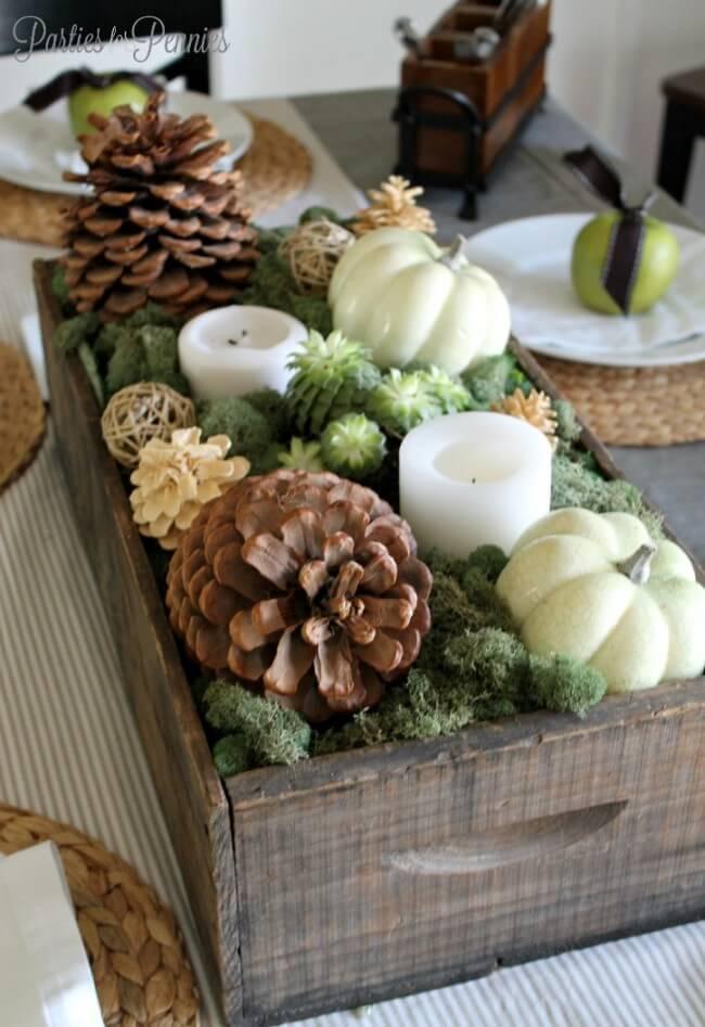 decoart blog entertaining thanksgiving centerpiece ideas
