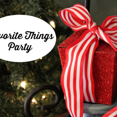 Kids Favorite Things Party