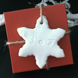 Stamped Clay Gift Tags