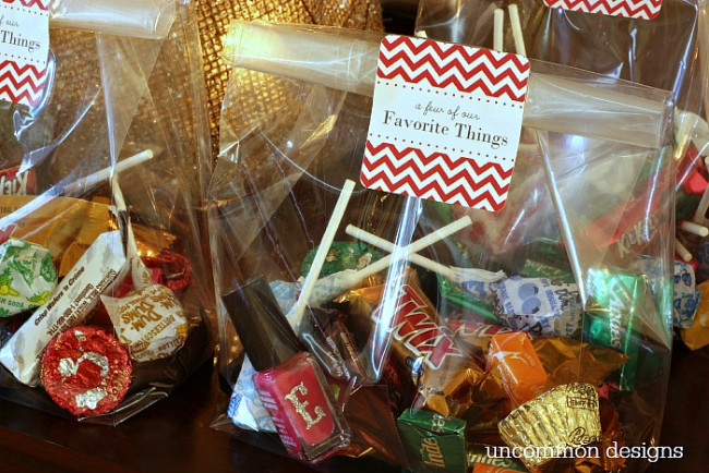 How to throw a favorite things party for the kids with Uncommon Designs!