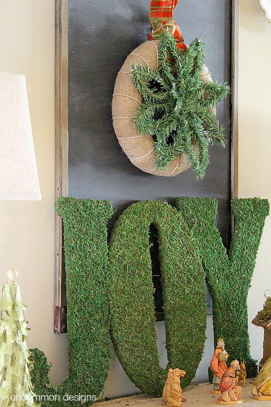 Create a stunning snowflake that never melts! This Christmas Greenery Snowflake via Uncommon Designs is simple and adorable! #YahooDiy
