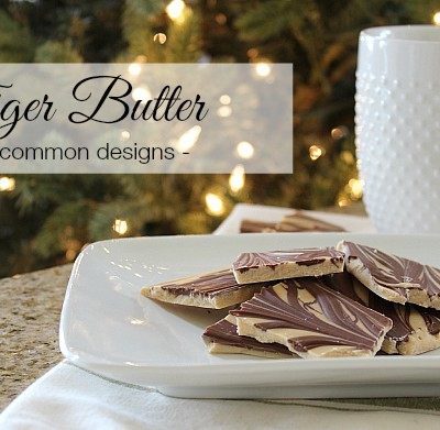 Tiger Butter – A 3 Ingredient Holiday Treat!