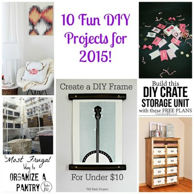 10 Fun DIY Projects | Monday Funday