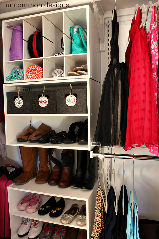 Genial Organize A Messy Closet With Rubbermaidu0027s HomeFree Closet System. No  Cutting Involved For A Custom