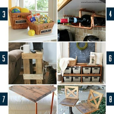 10 Indoor DIY Projects | Monday Funday
