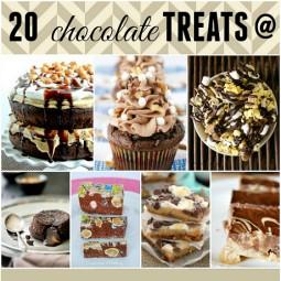 20 Chocolate Treats from Monday Funday!