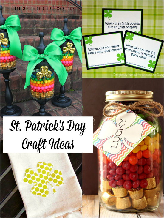 St patrick 39 s day craft ideas uncommon designs for St patrick day craft ideas