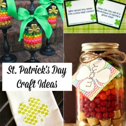 St Patricks Day Craft Ideas Square