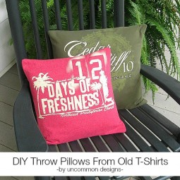 diy-throw-pillows-from-old-tshirts