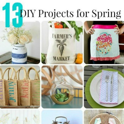 DIY Projects for Spring | Monday Funday
