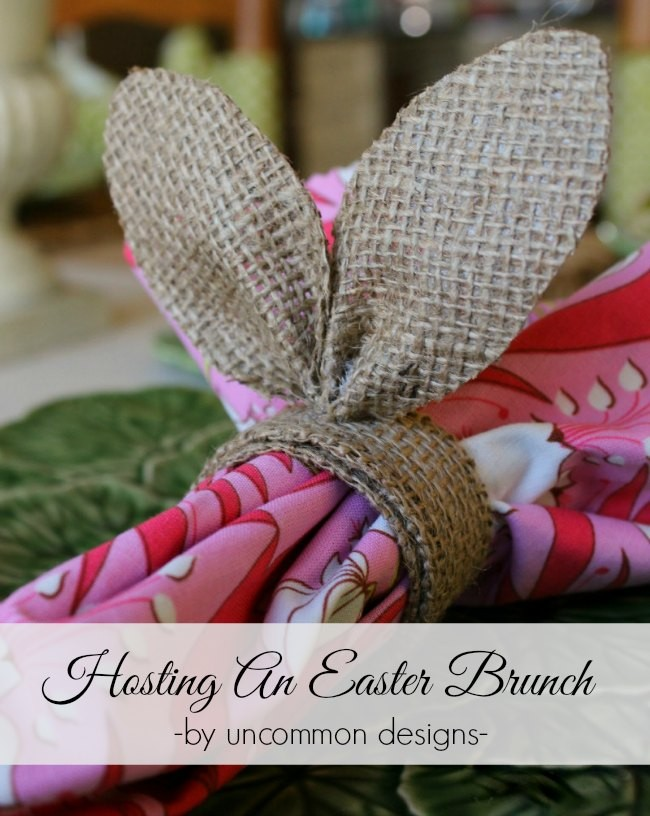 Tips for hosting an awesome Easter Brunch via Uncommon Designs