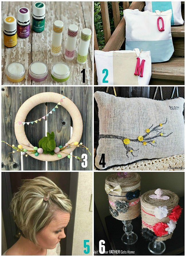 Monday Funday Hostesses projects for spring via Uncommon Designs.