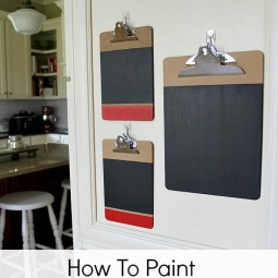 How-To-Paint-Chalkboard-Clipboards