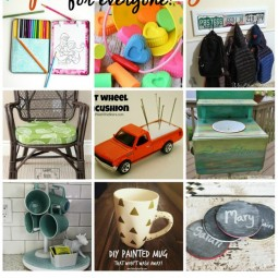Simple Spring Projects featured on Uncommon Designs