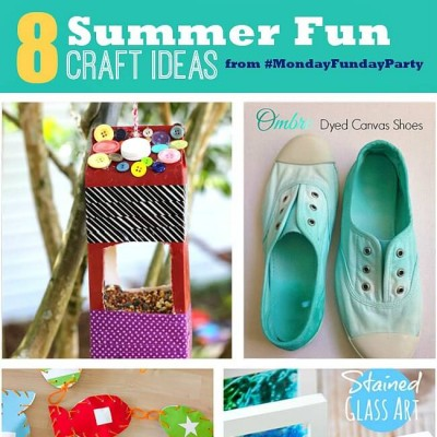 8 Summer Craft Ideas | Monday Funday