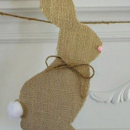Burlap bunny Individual Uncommon 2010 (1)