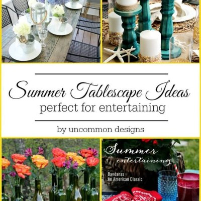 Summer Tablescape Ideas