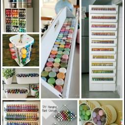 craft-paint-storage-ideas-uncommon designs