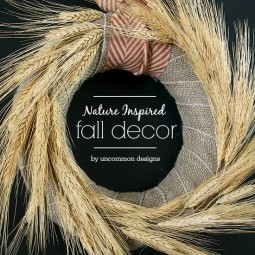 Nature Inspired Fall Decor