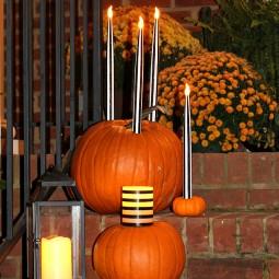 Candlestick Pumpkins 5