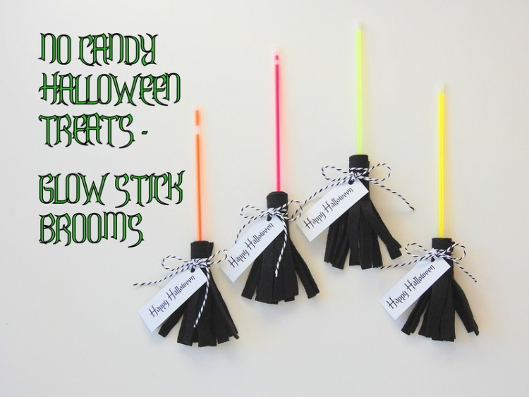 Glow-Stick-Brooms-for-Halloween