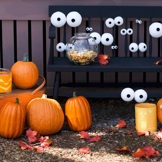 Googly Eye Front Porch by Home jelly