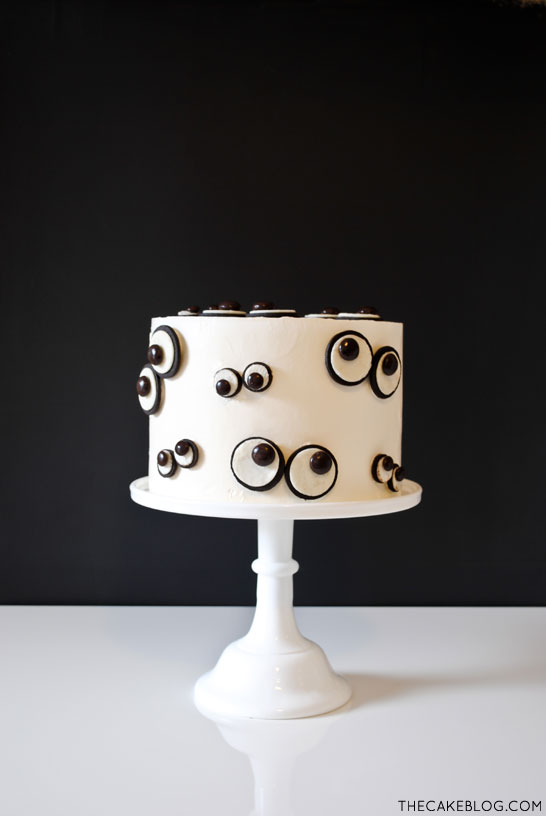 Monster Eyeball Cake by The Cake Blog