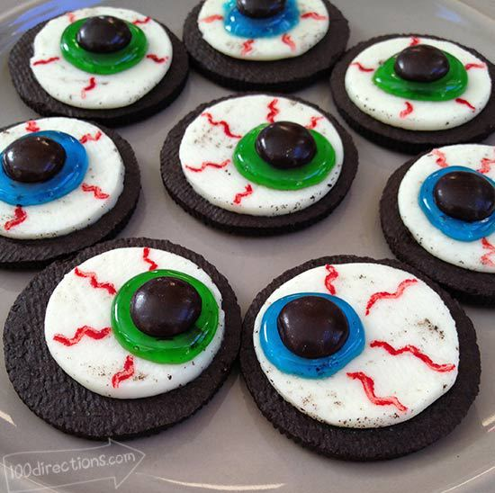 Oreo Eyeballs from 100 directions