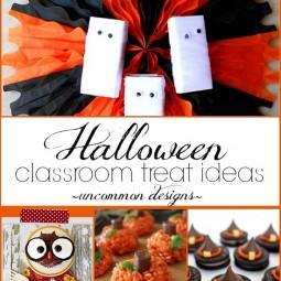 Halloween Classroom Treat Ideas