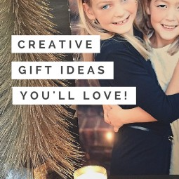 Creative gift ideas that you don't have to make! These simple ideas will light up your holidays! | Uncommon Designs