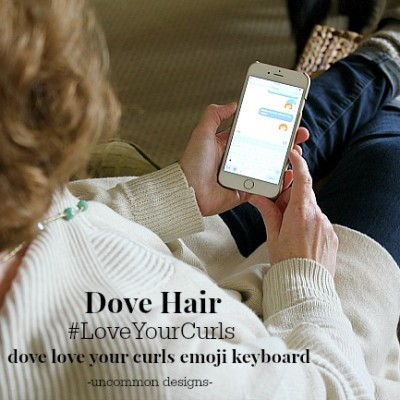 Love Your Curls with Dove Hair