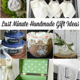 There is still time to make these adorable handmade gift ideas! There is something for everyone on your list this year! | Uncommon Designs