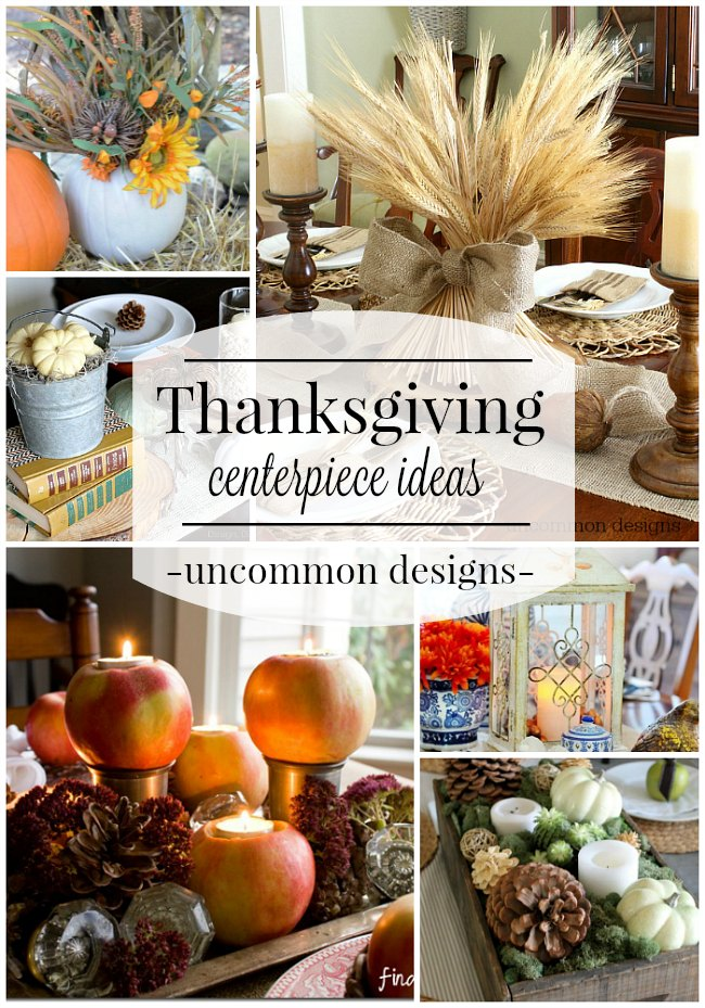 Thanksgiving Centerpiece Ideas  Uncommon Designs